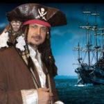 Шоу попугаев Стиль Пиратский