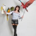Аренда попугаев для фотосессии